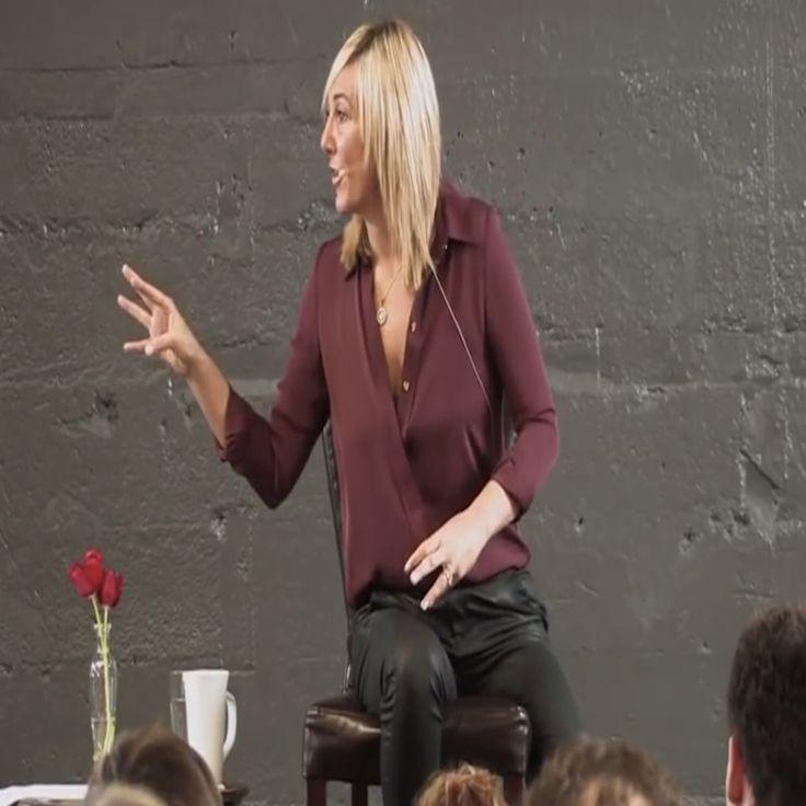Nicole Daedone lecturing at the OneTaste Coaching Program