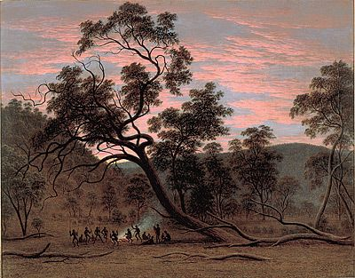 John GLOVER | A corrobery of natives in Mills Plains