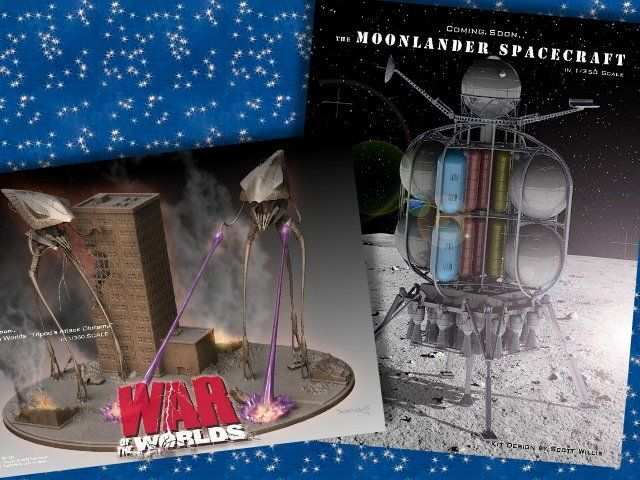 For more photos and info visit Pegasus Models Sneak Peak - Moon Lander and War of the Worlds Diorama - http://culttvman.com/main/pegasus-models-sneak-peak-moon-lander-war-worlds-diorama/