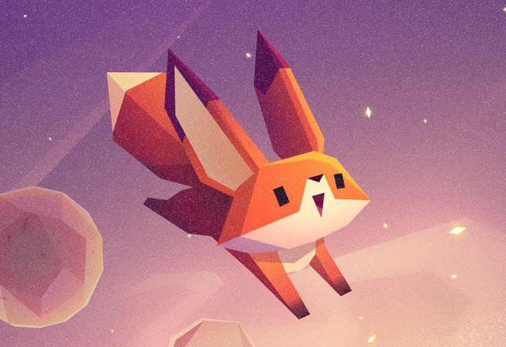 """다음 @Behance 프로젝트 확인: """"The Little Fox"""" https://www.behance.net/gallery/40196323/The-Little-Fox"""