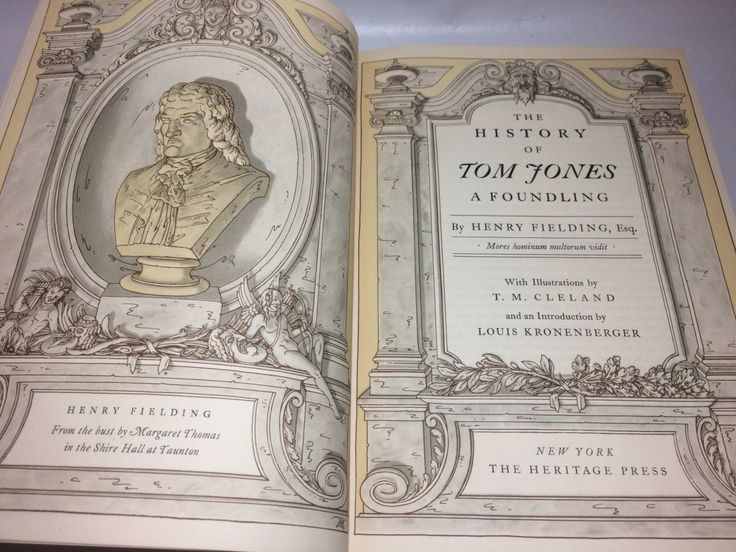 50% off The history of Tom Jones by Henry Fielding, illustrated by T. M. Cleland. The Heritage Press, NY, 1952. by CosmicCollectibles on Etsy