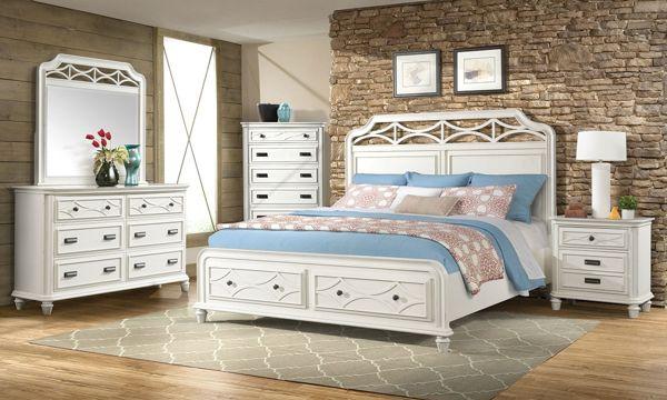 Mystic Bay White Pine Poplar King Storage Bedroom Bedroom Sets Furniture King King Storage Bed Furniture