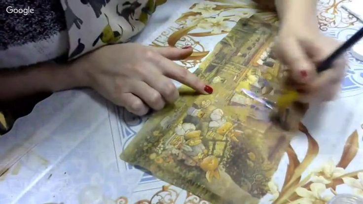 Аля Ашмарина Шкатулка с лессировкой и состариванием