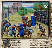 """Walter """"Wat"""" Tyler (died 15 June 1381) was a leader of the 1381 Peasants' Revolt in England. He marched a group of rebels from Canterbury to the capital to oppose the institution of a poll tax and demand economic and social reforms. While the brief rebellion enjoyed early success, Tyler was killed by officers loyal to King Richard II during negotiations at Smithfield, London."""