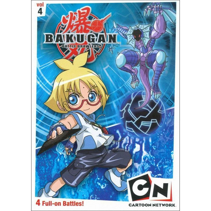 Bakugan Vol 4 Heroes Rise Dvd Video Cartoon Cartoon