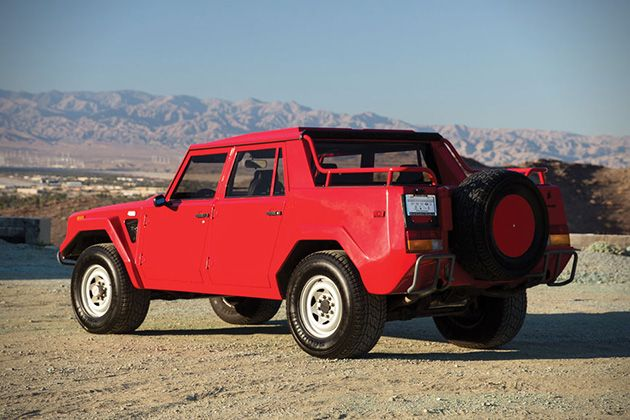 1989 Lamborghini LM002 For Sale 3