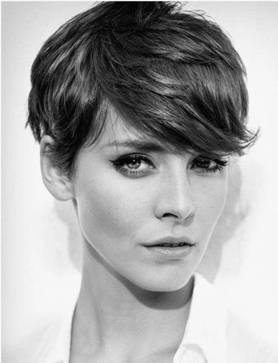 Frisuren Mittellang Naturhaar Short Cut Pinterest Short Hair