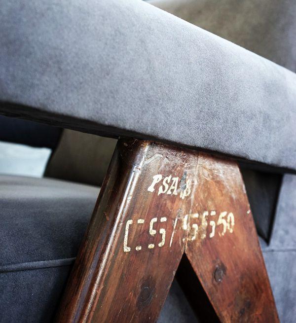 インドの国宝、コルビジュエが作った街・チャンディーガルの家具の展覧会