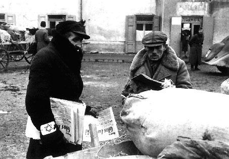 Shoah - The Holocaust - Scenes from Lublin Ghetto, Poland, 1940-1941.