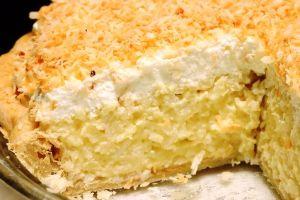 быстрый рецепт кокосового пирога со сливками