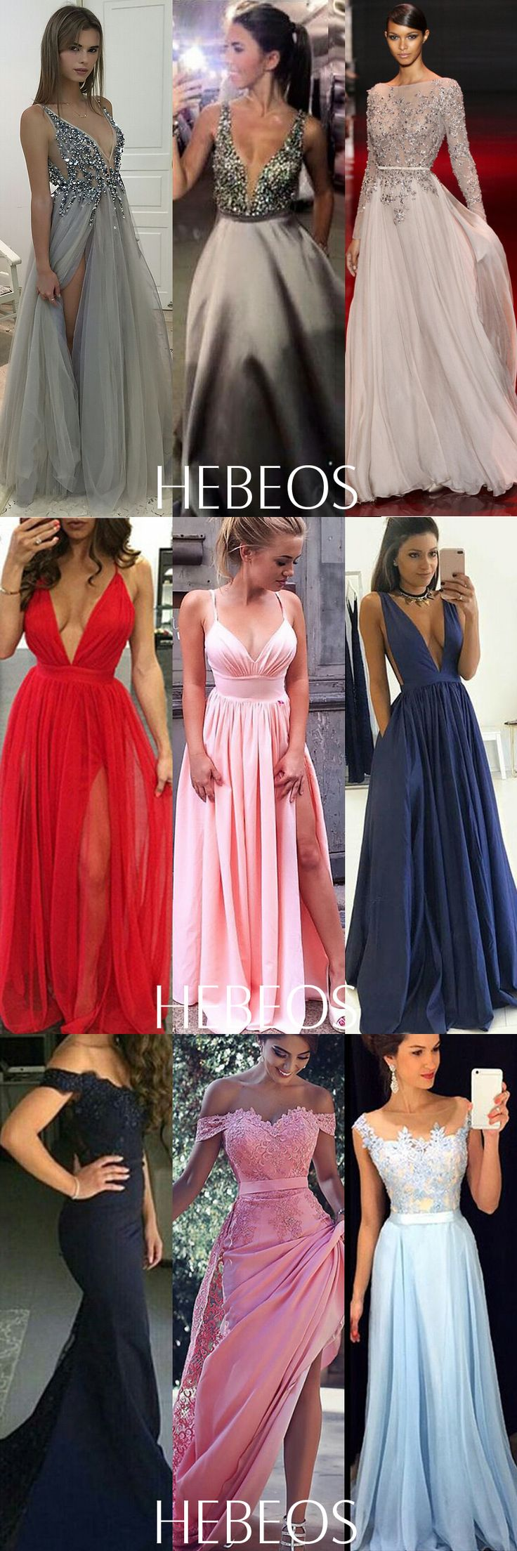 The new HEBEOS prom collection is here! Shop dresses $99 & up in sizes 0–22 & 28 colors. Custom size for free! Shop prom dresses 2018 now! More Evening gowns & Formal dress at hebeos.com