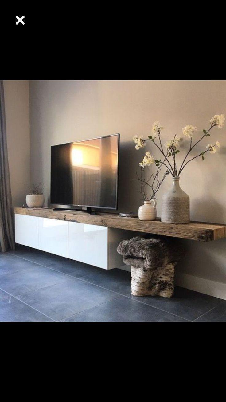 Ecke Hout wit wohnzimmerideenwandgestaltung Hout en wit