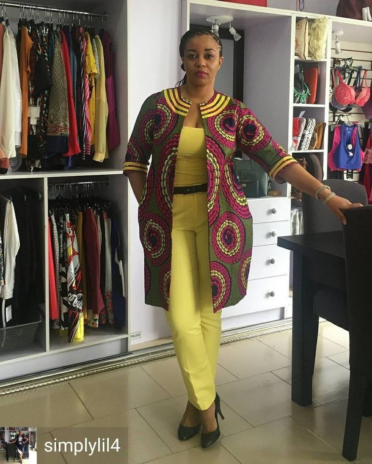 It's really amazing to see how the Ankara African print can be used in designing almost any style you can think of. And as such, Ankara Jacket has become a popular item in the wardrobe of many fashionable ladies & celebrities.So if you are looking for lu