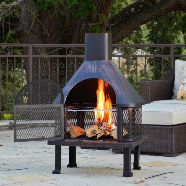 Aluminum Chiminea Aluminum Wood Burning Pyramid Steel: 17 Best Ideas About Chiminea Fire Pit On Pinterest