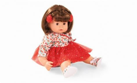 Maxy Muffin Brown Hair Baby Doll by Gotz