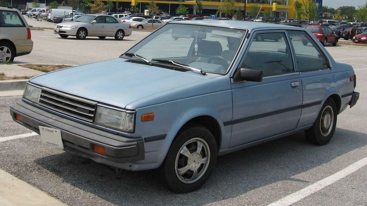 1986 Red Nissan Sentra car9 Cars I've owned that I can