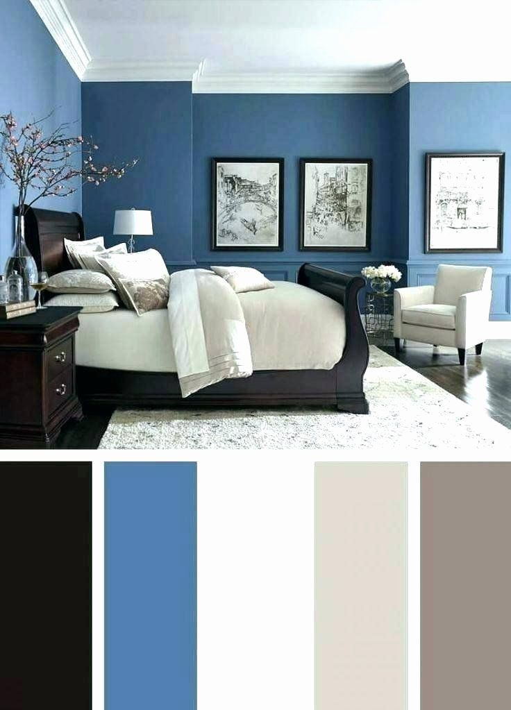 Colour Combination For Bedroom Inspirational Astounding Blue Colour Bination For Bedroom Walls Two Di 2020 Interior Painting Benjamin Moore