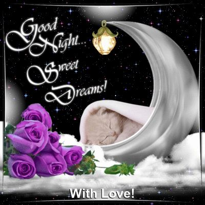 Everyday Cards/Good Night section. This ecard can be sent to anyone with love! Permalink : http://www.123greetings.com/general/goodnight/good_night_from_me.html