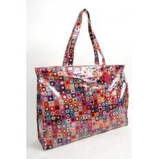 Doca Bags & Accessories - PVC Beach Bag--handig..en mooi!!!