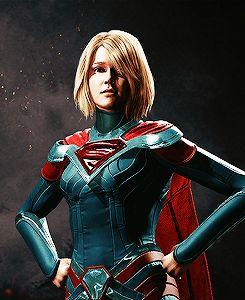 'Injustice 2' Supergirl Portrait