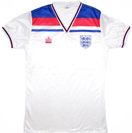 Retro England Shirts 1982 World Cup Shirt