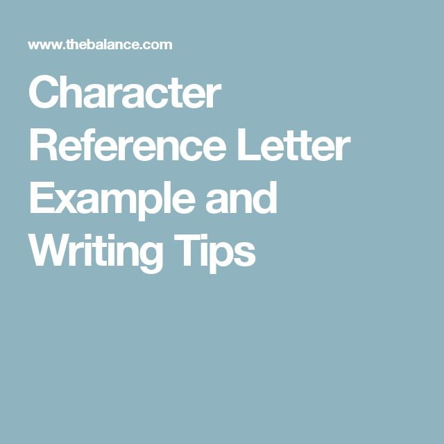 Best 25+ Reference letter ideas on Pinterest Work reference - sample personal reference letter