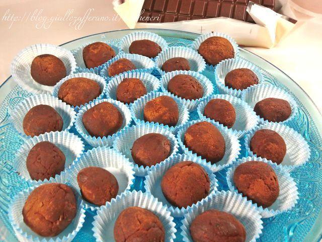 Tartufi al cioccolato, ricetta golosa