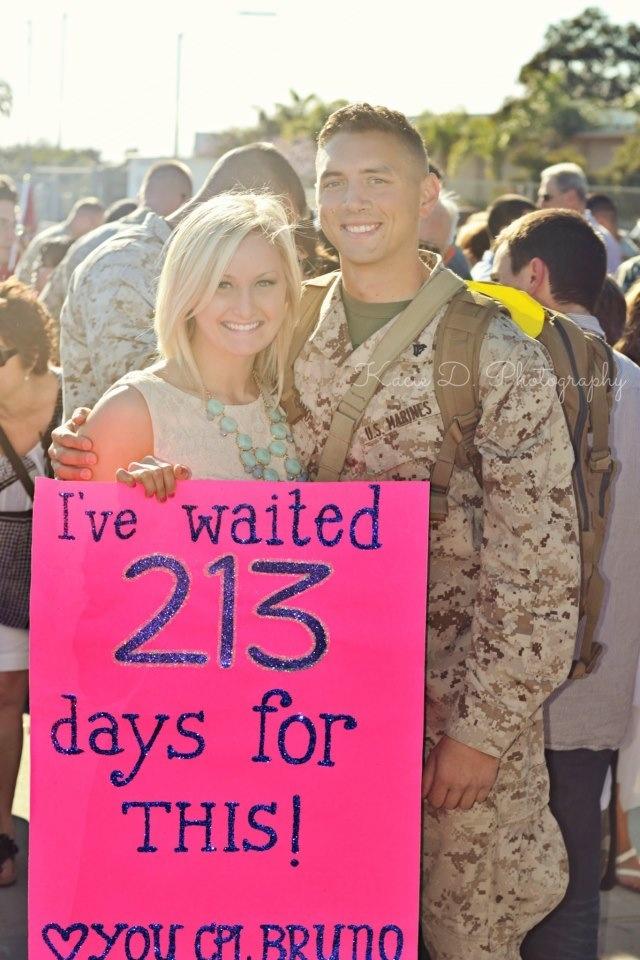 Marine Homecoming <3