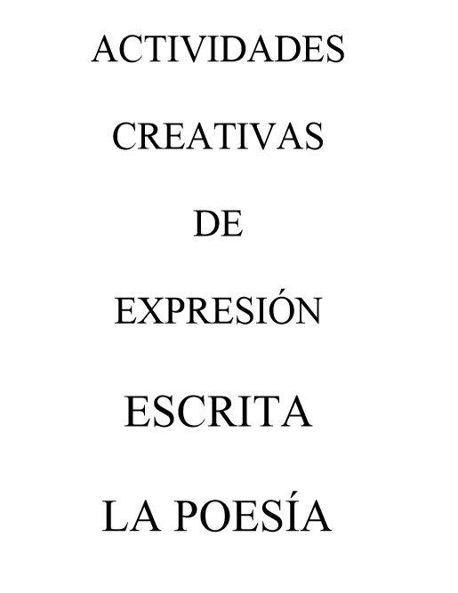 Cuadernos digitales Vindel. Escritura creativa, poesía