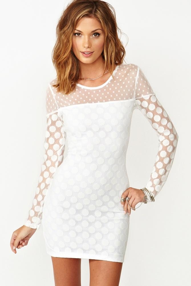 Circle Mesh Dress