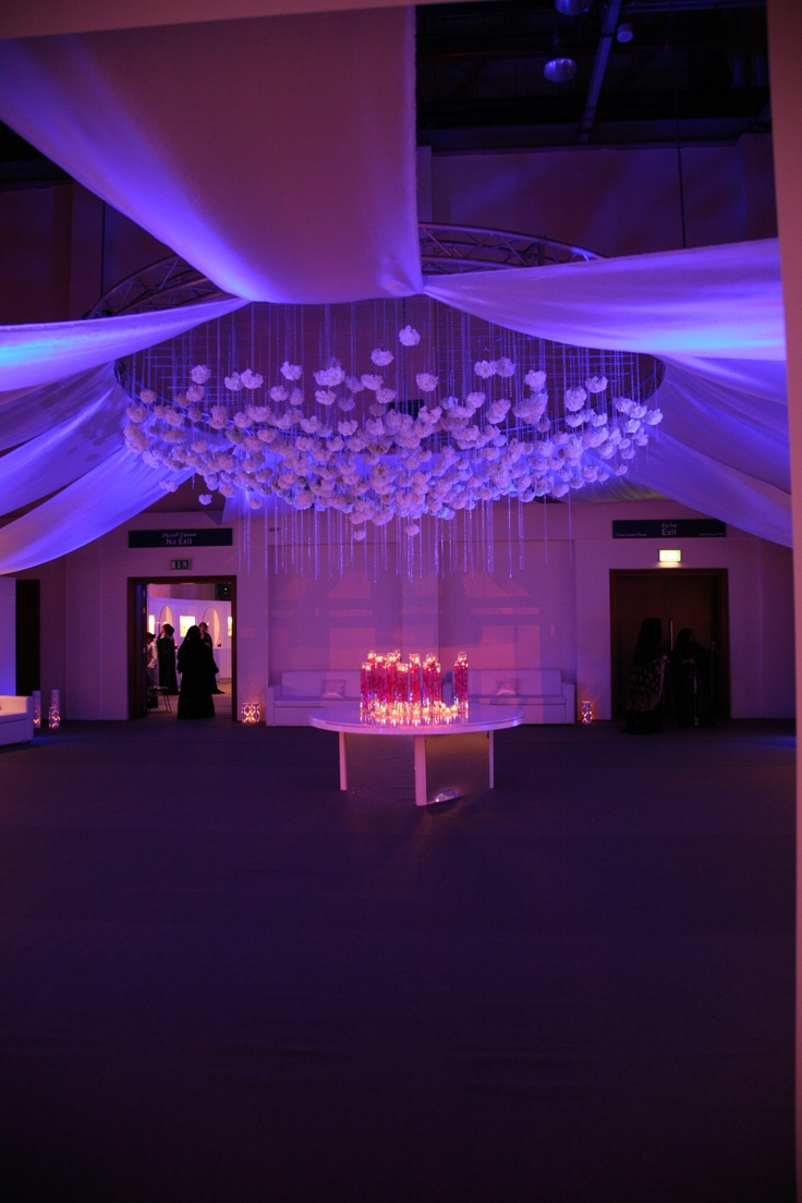 Suspended florals for weddings suspended floral arrangements - Suspended Flowers Designed By Master Production
