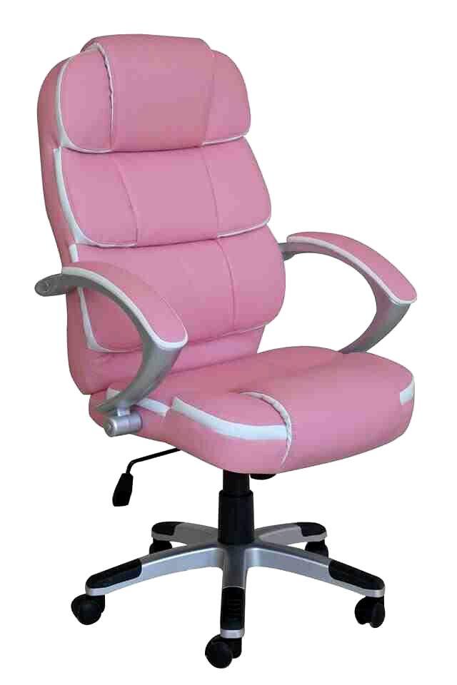 Light pink office chair
