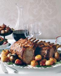 Citrus-Marinated Pork Rib Roast Recipe  - Fabio Trabocchi | Food & Wine