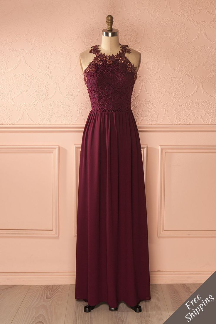 Zyna Burgundy from Boutique 1861