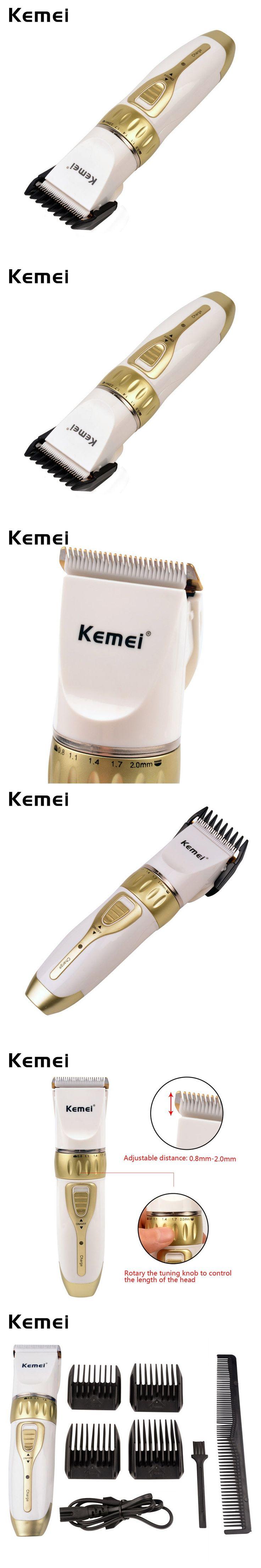 Kemei Hair Clipper Haircut Machine Hair Cutting Machine Electric Hair Trimmer Cutter Professional for Men/Family Haircut -P00