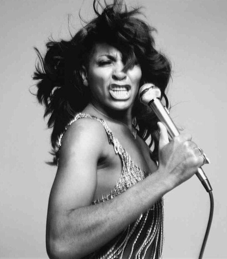 Tina Turner by Richard Avedon