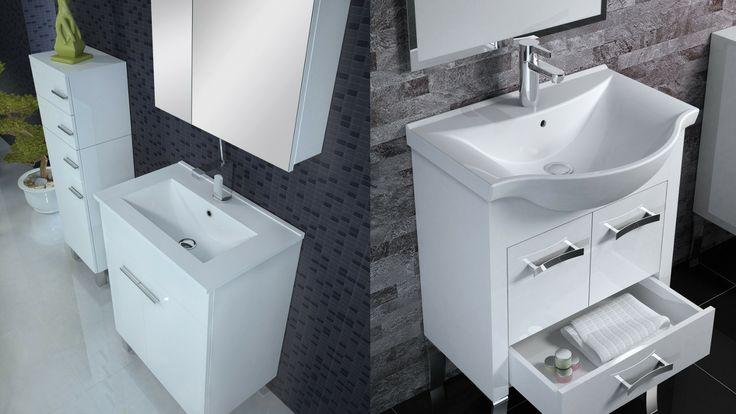 Szafki łazienkowe #furniture