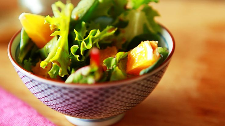 This vinaigrette is perfect for summer weather and also goes very well with Asian salads.