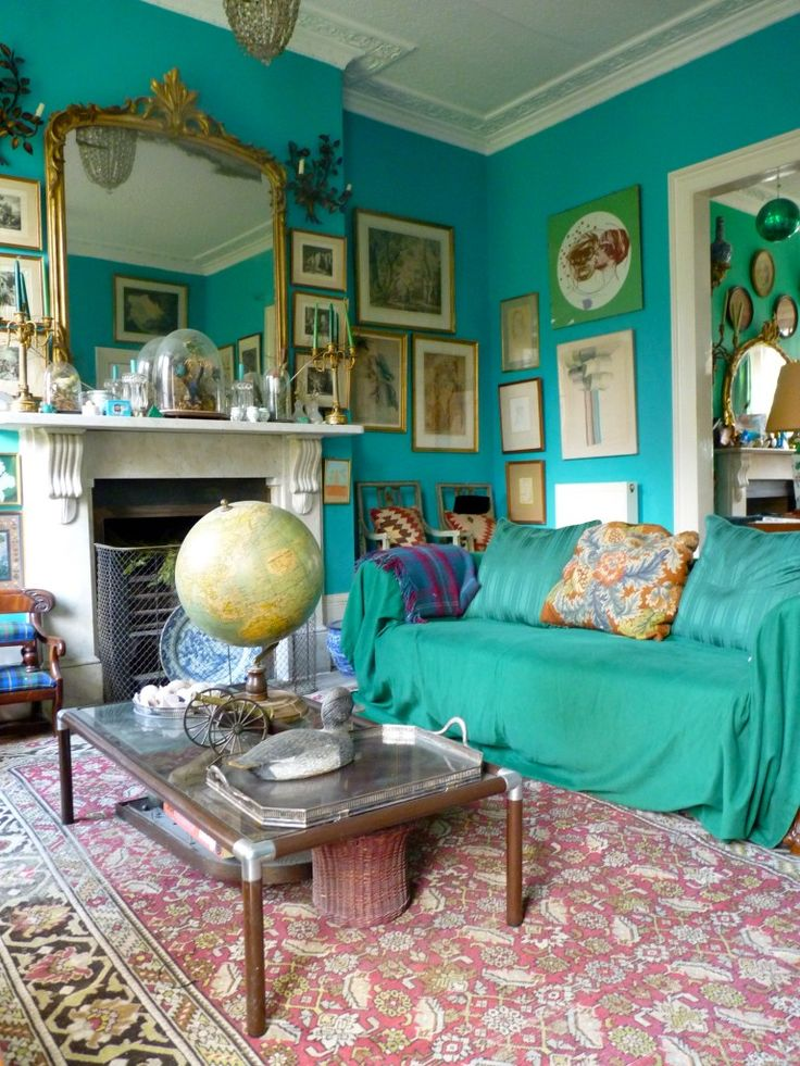 25 Best Ideas About Turquoise Walls On Pinterest Bright Colored Rooms Eclectic Style And