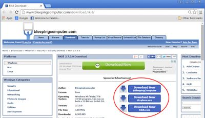 Odborná počitačová pomoc: Programy pro odstranění, Malware, Adware, Spyware,...
