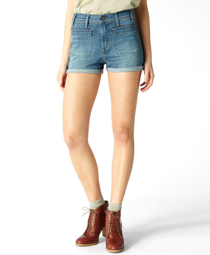 Patch Pocket Shorts  Was $68.00 Now $14.90
