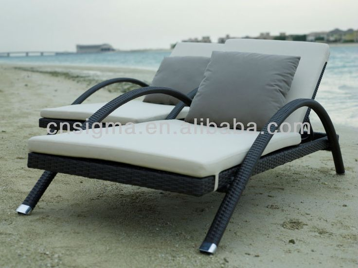 2014 Comfortable Outdoor Furniture Rattan Poly Wicker Sunbed Pool Chair Sun  Lounger(China (Mainland