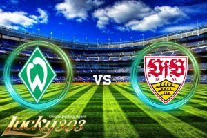 Prediksi Skor Werder Bremen vs Stuttgart 2 December 2017-Prediksi Skor Werder Bremen vs Stuttgart 2 December 2017- Werder Bremen vs Stuttgart 2 December 2017-Pada Pertandingan Liga Bundesliga kali ini mempertemukan 2 tim yaitu tim Werder Bremen sebagai tuan rumah dan tim Stuttgart sebagai tim tamu. Laga seru antara Werder Bremen vs Stuttgart akan berlangsung di Weserstadion (Bremen),pada tanggal 2 December 2017. Dimana kedua tim ini akan mulai bertanding Pukul 21:30 WIB.