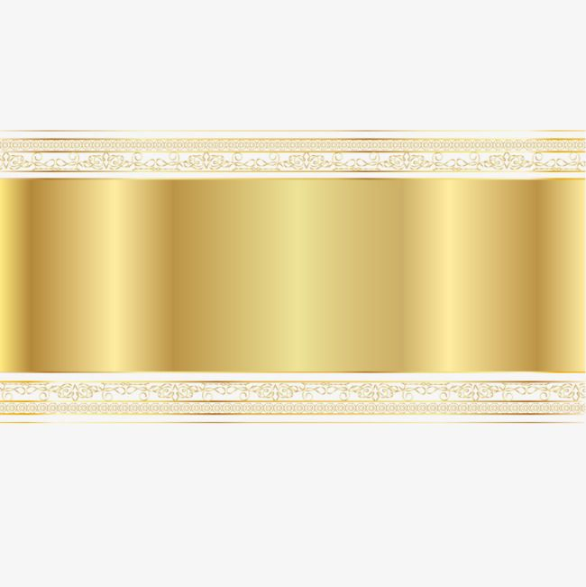 Vector Gold Banner Hd Vector Joyous Png Transparent Clipart Image And Psd File For Free Download Gold Banner Banner Vector