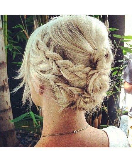 12 Short Updo Hairstyles Ideas: Anyone Can Do | PoPular Haircuts