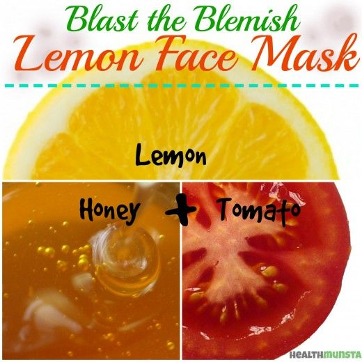 Ingredients  1/2 teaspoon lemon juice 1 tablespoon honey 1 teaspoon tomato pulp Directions Combine the above ingredients thoroughly in a small mixing bowl. Use clean fingertips to apply the lemon face mask onto your clean face. Let the mask sit for about 10 minutes. When the time is up, use warm water to loosen the mask before rinsing with cool water. Pat dry with a clean soft towel. Tips  Do facial steaming beforehand to open up pores and allow the face mask to penetrate. Wear an old…