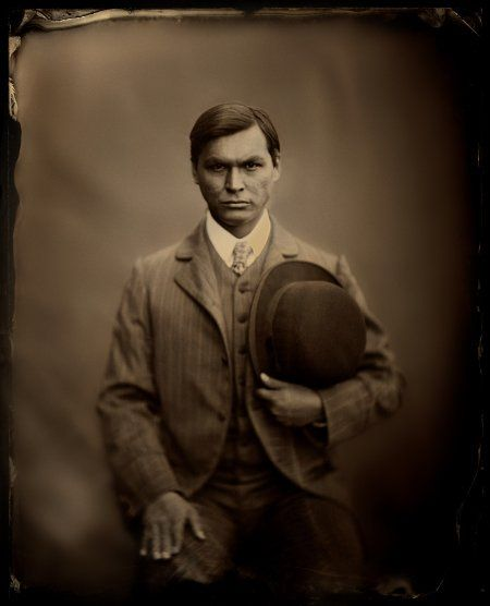 Adam Beach in Bury My Heart at Wounded Knee