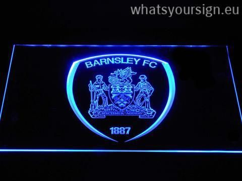 Barnsley F.C. - LED neon sign made of the premium quality transparent plastic and intense colorful LED lighting. The neon sign looks exactly the same from every angle thanks to the carving with the latest 3D laser engraving technology. This LED neon sign is a great gift idea! The neon is provided with a metal chain for displaying. Available in 3 sizes in following colours: Purple, Orange, Blue, Green, Red, White and Yellow!