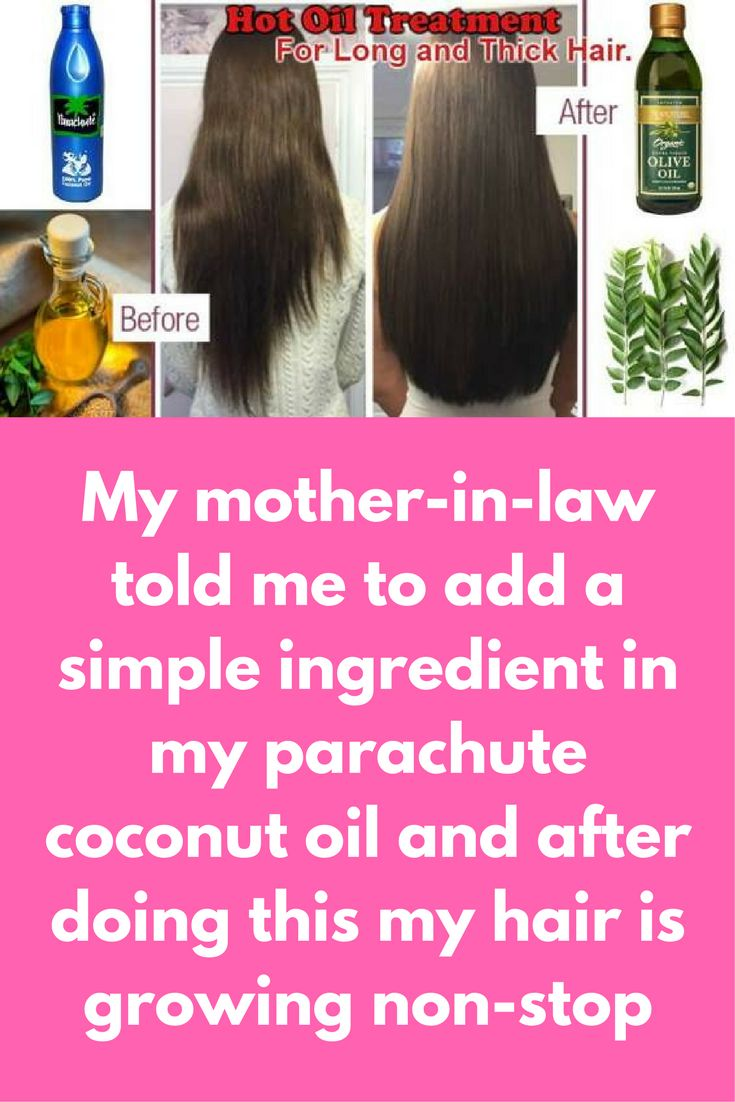 My mother-in-law told me to add a simple ingredient in my parachute coconut oil and after doing this my hair is growing non-stop Today I will tell you how can you use simple coconut oil to get long thick hair super fast For this treatment you will need: C