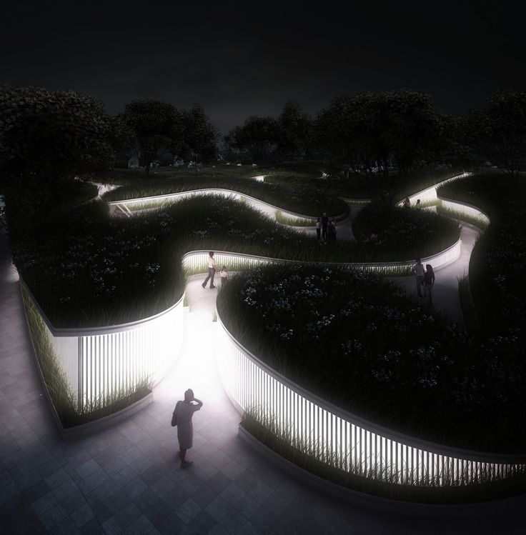 Gallery of Penda Designs River-Inspired Landscape Pavilion for China's Garden Expo - 2